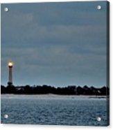 Night Beacon - Cape May Lighthouse Acrylic Print