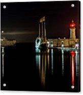 Night Boat Acrylic Print