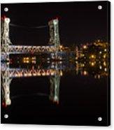 Night Bridge Acrylic Print