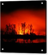 Night Burn Acrylic Print