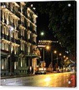 Night City Acrylic Print