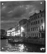 Night City Peterburg Acrylic Print