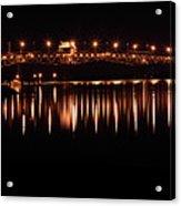 Night Crossing Acrylic Print