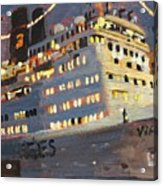Night Cruise Acrylic Print by Brian Simons
