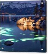 Night Dive - Lake Tahoe Acrylic Print