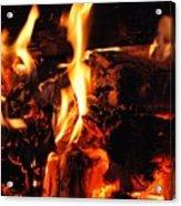 Night Fire  Acrylic Print