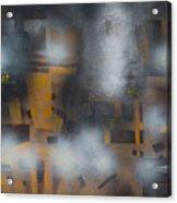 Night Flashes Acrylic Print