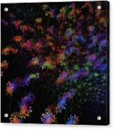 Night Flowers Acrylic Print