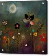 Night Garden Acrylic Print