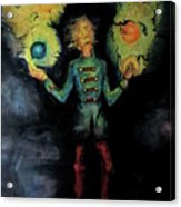 Night Juggler Acrylic Print