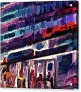 Night Lights Of London Acrylic Print