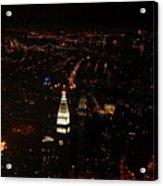 Night Lights Acrylic Print