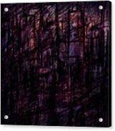 Night Lovers Acrylic Print