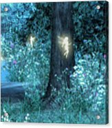 Night Magic Fairy Flight Acrylic Print