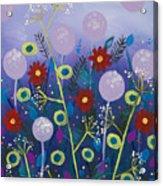 Night Meadow Acrylic Print