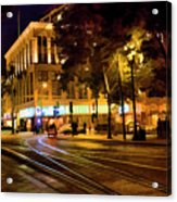 Night Moods San Jose Ca  Acrylic Print