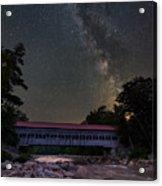 Night On The Swift River Acrylic Print