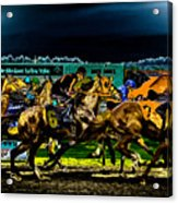 Night Racing Acrylic Print