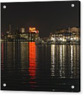 Night Reflections Acrylic Print