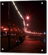 Night Road Acrylic Print