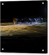 Night Runners Acrylic Print