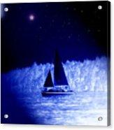 Night Sail Acrylic Print