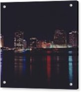 Night Scape Acrylic Print