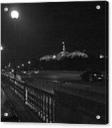 Night Scene Paris Acrylic Print