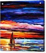 Night Sea  Acrylic Print