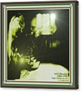 Night Search No. 14 With Decorative Ornate Printed Frame. Acrylic Print