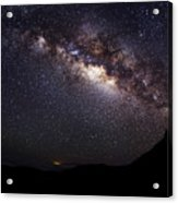 Night Sky - Haleakala Summit Acrylic Print