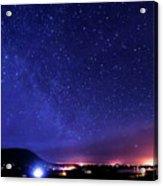 Night Sky Over County Mayo Acrylic Print