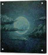 Night Sky Peek-a-boo Acrylic Print
