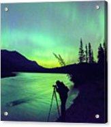 Night Sky Photographer Acrylic Print