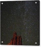Night Sky Red Rock 2733 Acrylic Print