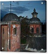 Night Skyline 1 Acrylic Print