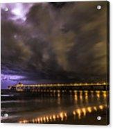 Night Storm Acrylic Print