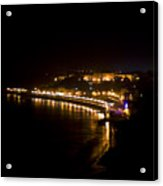 Night Town Acrylic Print