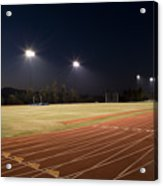 Night Training Acrylic Print