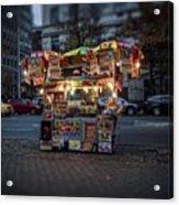 Night Vendor Acrylic Print