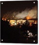 Night View Of The Pentagon Acrylic Print