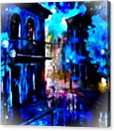 Night Walking In New Orleans Acrylic Print