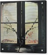 Night Window Acrylic Print
