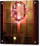 Night Wreath Acrylic Print