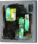 Texture Of Night Painting Acrylic Print
