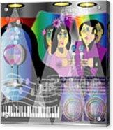 Nightclubbin Acrylic Print