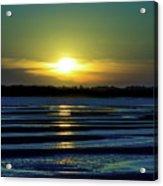 Nightfall At The Shore Acrylic Print