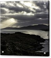 Nightfall Isle Of Harris Acrylic Print