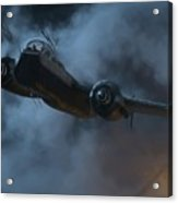 Nightfighter - Painterly Acrylic Print