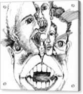 Nightmares Acrylic Print